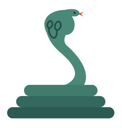Cobra icon isolated vector