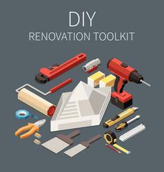 diy toolkit vector image