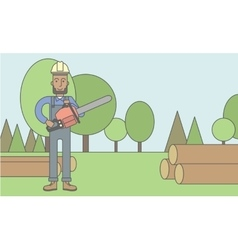Lumber-man vector