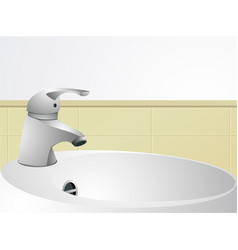Wash-hand basin vector