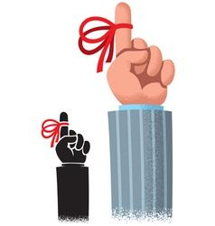 Reminder Ribbon vector image