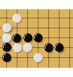 ancient chinese game vector image vector image