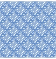 Abstract Blue Pomegranate Texture Seamless vector