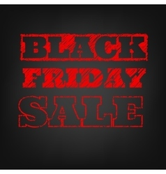 Black friday sale template EPS 10 vector image