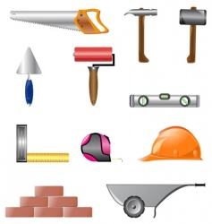 building instruments vector image