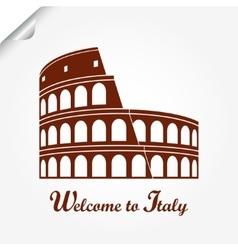 Colosseum Rome vector image