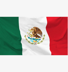 flag united mexican states vector image