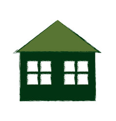Green building house vector