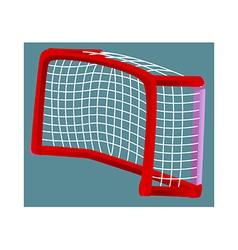 Icon goalpost vector