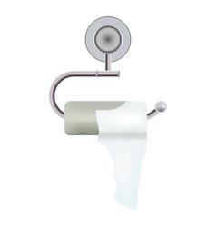 intestinal diseases diarrhea toilet paper with vector image
