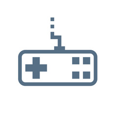 Joystick linear icon vector