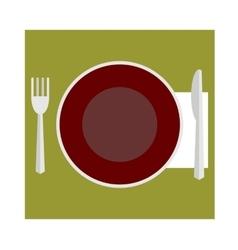 provide etiquette on white background flat vector image