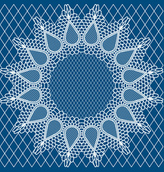 Wedding lace pattern2 vector
