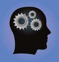 Mindgear vector image vector image