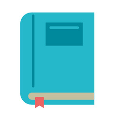 textbook school learn image vector image