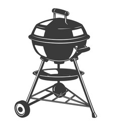 Grill icon isolated on white background design vector