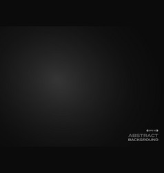 Abstract clear gradient black background vector