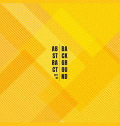 abstract yellow geometric squares overlapping vector image