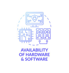 Availability hardware and software dark vector