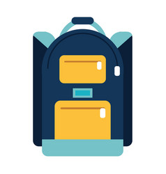 backpack school design image vector image