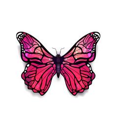 Beautiful light pink detailed realistic magic vector