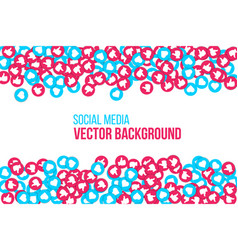 Creative of social network vector