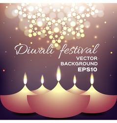 Diwali festival vector