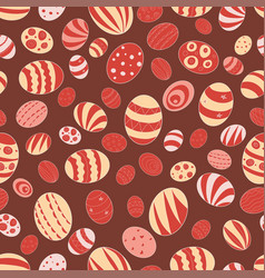 For the holiday of easter pattern vector