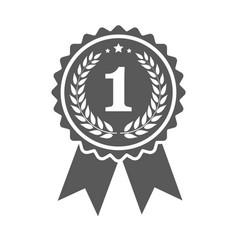 ribbons award winner isolated on white background vector image