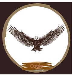 Eagle 4 vector image