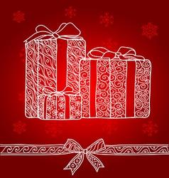 Gift box1 vector
