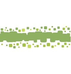 green dots vector image