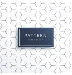 Minimal think line geometric pattern background vector