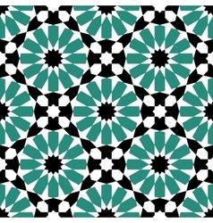 moroccan mosaic seamless vector image