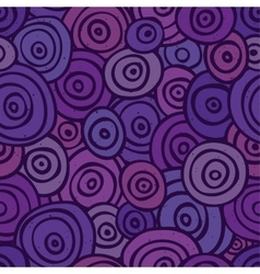 pop art retro seamless pattern purple vector image