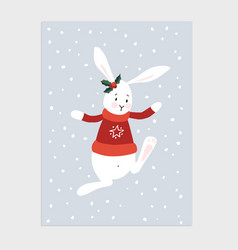 Traditional year greeting card vector