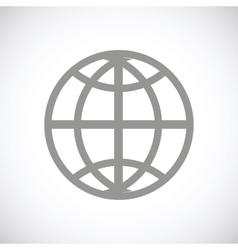 World black icon vector
