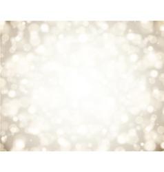 Christmas light vector image vector image