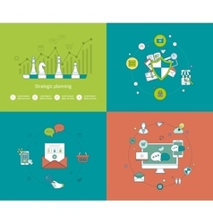 Concepts for strategy planning and successful vector