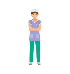 embryologist medical specialist vector image