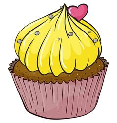 Cupcake vector image vector image