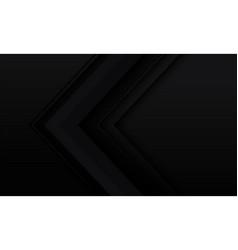 Abstract black arrow geometric hexagon mesh vector