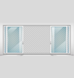 contemporary sliding door vector image
