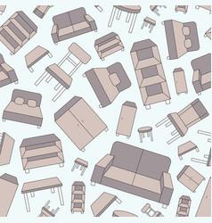 furniture background 01 vector image