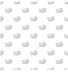 going forward monkey pattern seamless vector image