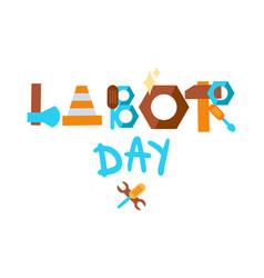 Labor day 1 may vector