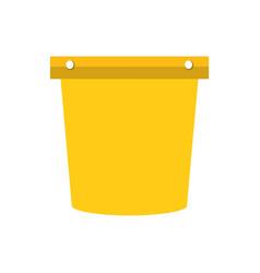 pail vector image