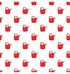 Red oiler pattern cartoon style vector