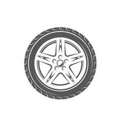 vintage element of the car service vector image
