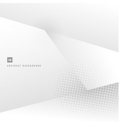 abstract background white and gray gradient with vector image
